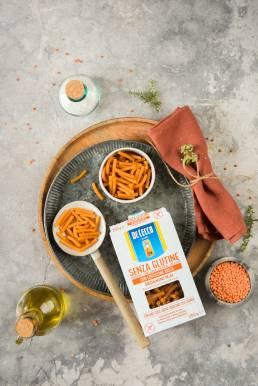 Foto pasta De Cecco lenticchie senza glutine
