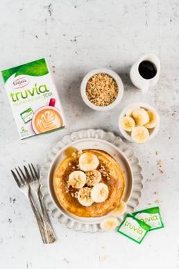 ricetta pancake truvia eridania stevia senza zucchero