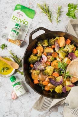 ricetta truvia eridania stevia verdure agrodolce